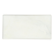 Lansdale Carrara Polished Long Side Bullnose 3 x 6 in