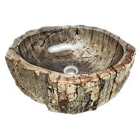 Java Petrified Wood Sink