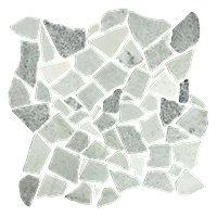 Biltmore Tumbled Cobble 12 x 12 in