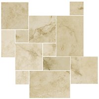 Aragon Beige Small Versailles Pattern 8.72 SF