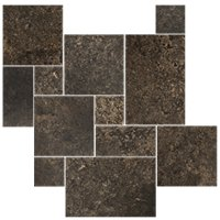 Charcoal Small Versailles Pattern 8.71 SF