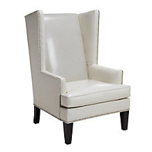 Pebble Accent Chair - White