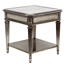 Palais End Table With Shelf