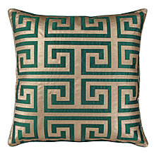 "Mykonos Pillow 24"" - Emerald"