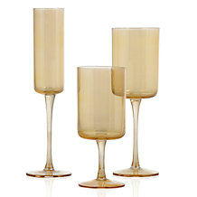 Laurel Stemware - Sets of 4 - Gold