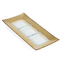 Luxe Rectangular Serving Dish - Gold