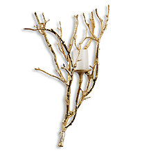 Branch Sconce - Gold