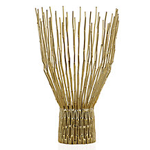 Paquet Pillar Holder - Gold