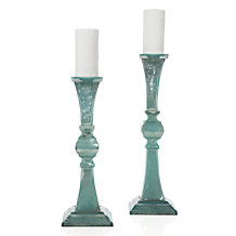 Vendome Pillar Holder - Aquamarine