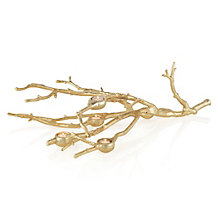 Branch Votive Holder - Gold