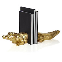 Alligator Bookends - Set of 2