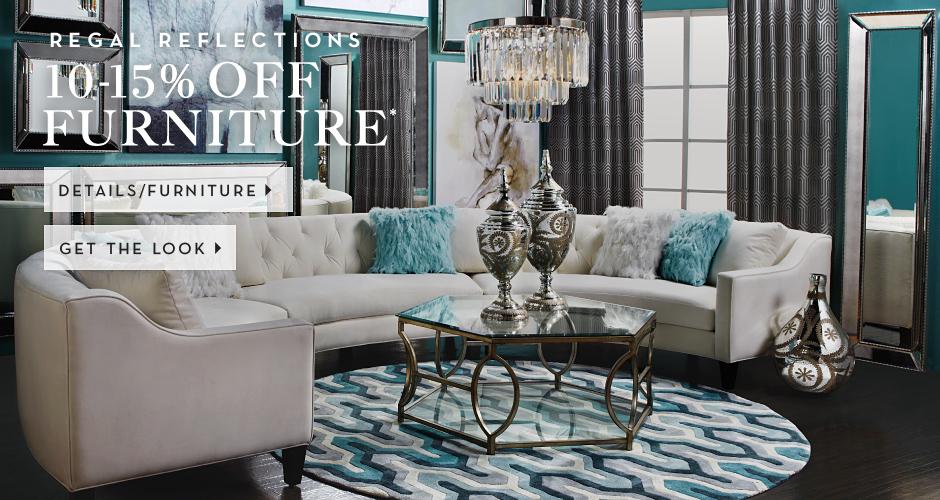 10-15% off furniture, see furntiure for details