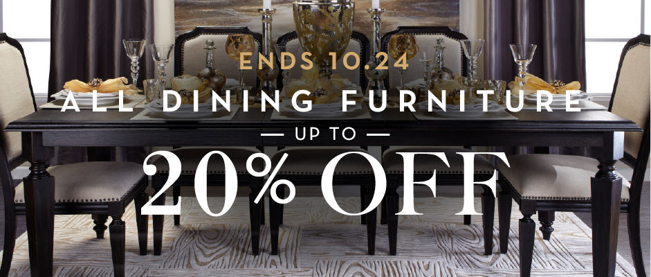 up to 20% off dining