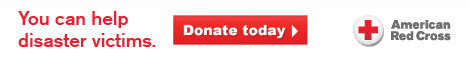 You can help disaster victims Red Cross web banner