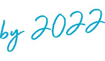by 2022