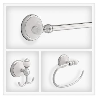 delta alexandria in polished chrome white delta colalexandria pcw decorative bath hardware accessories collections libertyhardware