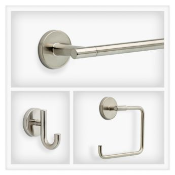 delta trinsic in brilliance stainless steel delta coltrinsic bss decorative bath hardware accessories collections libertyhardware - Bathroom Accessories Delta
