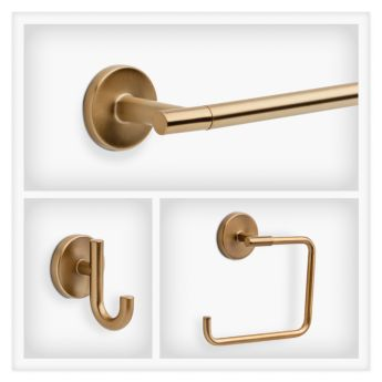 delta trinsic in champagne bronze delta coltrinsic chb decorative bath hardware accessories collections libertyhardware