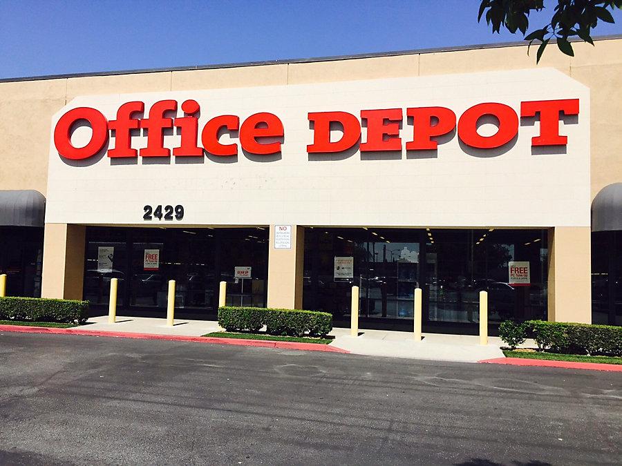 Office Depot   Fullerton Ca