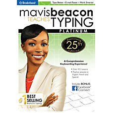 Mavis Beacon Teaches Typing Platinum 25th
