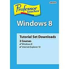 Professor Teaches Windows 8 Download Version