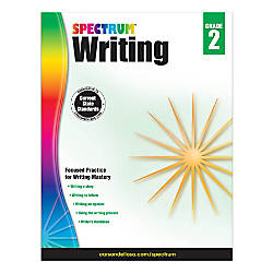 Spectrum Writing Grade 2