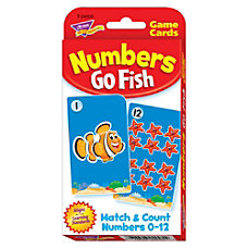 Trend Enterprise Numbers Go Fish Challenge