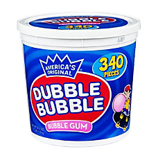 Dubble Bubble Gum 597 Oz Tub