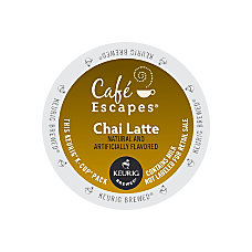 Cafe Escapes Chai Latte K Cup