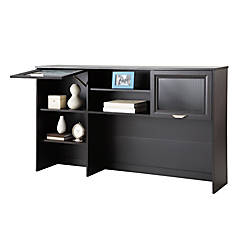 "Realspace® Magellan Collection Hutch, 33 5/8""H x 58 1/8""W x 11 5/8""D, Espresso"