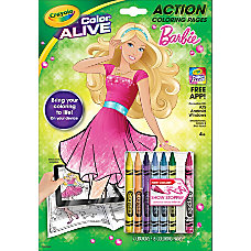 Crayola Color Alive Barbie Virtual Coloring