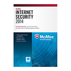 McAfee Internet Security 2014 eCard