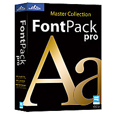 FontPack Pro Master Collection PC Download