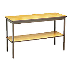 Barricks Utility Table Rectangle Top Square
