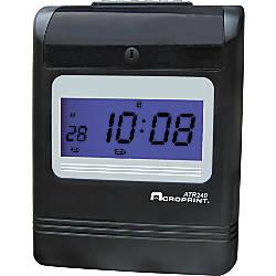 Acrprint ATR240 Electronic Time Clock 1362