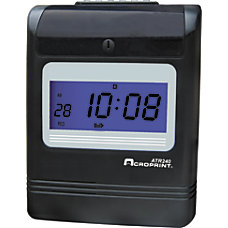 Acrprint ATR240 Electronic Time Clock 1362