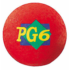 Martin Playground Ball 6 Red