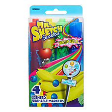 Mr Sketch Washable Scented Markers Chisel
