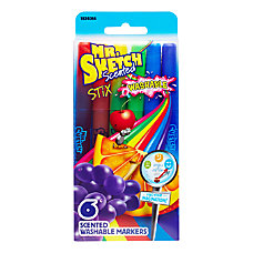 Mr Sketch Washable Scented Markers Stix