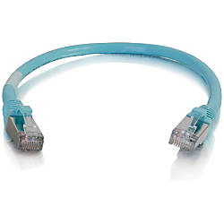 C2G 6in Cat6a Snagless Shielded STP