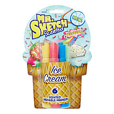 Mr Sketch Ice Cream Washable Scented