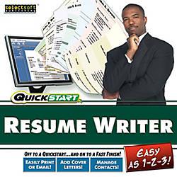 QuickStart Resume Maker Download Version