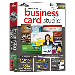 Business Card Studio 5 0 Download Version by fice Depot