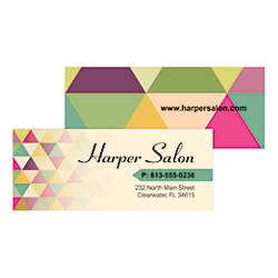 Taylor Full Color Mini Business Cards