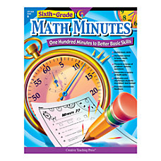 Creative Teaching Press Math Minutes Grade