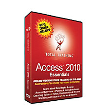 Total Training for Microsoft Access 2010