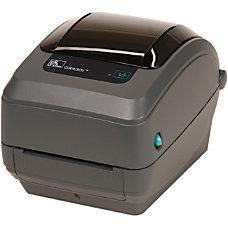 Zebra GX430t Thermal Transfer Printer Monochrome