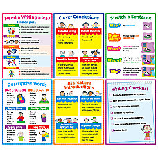 Creative Teaching Press Writing Charts Grades