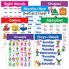 Creative Teaching Press Basic Skills Charts