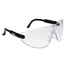 LEXA BLACK CLR MEDIUMM SAFETY GLASSES